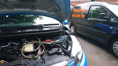 Wrong fuel fixing